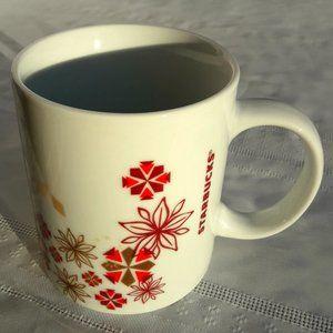 Starbucks Cups Mugs Ceramic Decor Boho MCM Flower